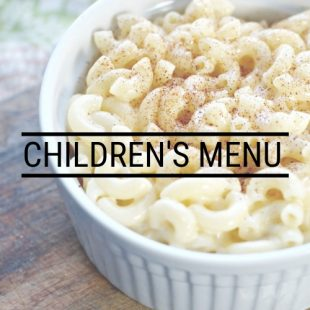 CHILDRENS MENU - The Barn